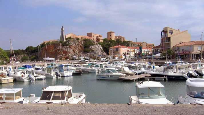Hafen von Narbonne