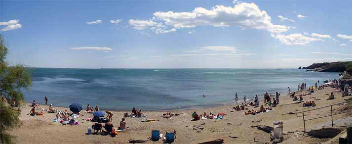 Strand in Cap d'Agde – Plage de la Grande  Conque